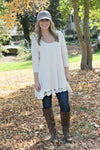 Cobblestone Pavers Tunic - Leah B. Boutique