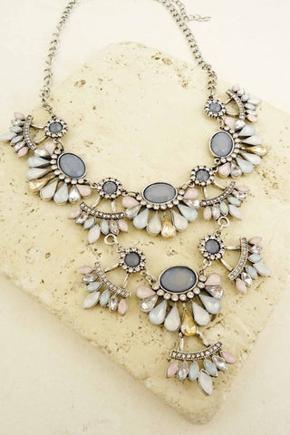 The Jessica Necklace- Pastel