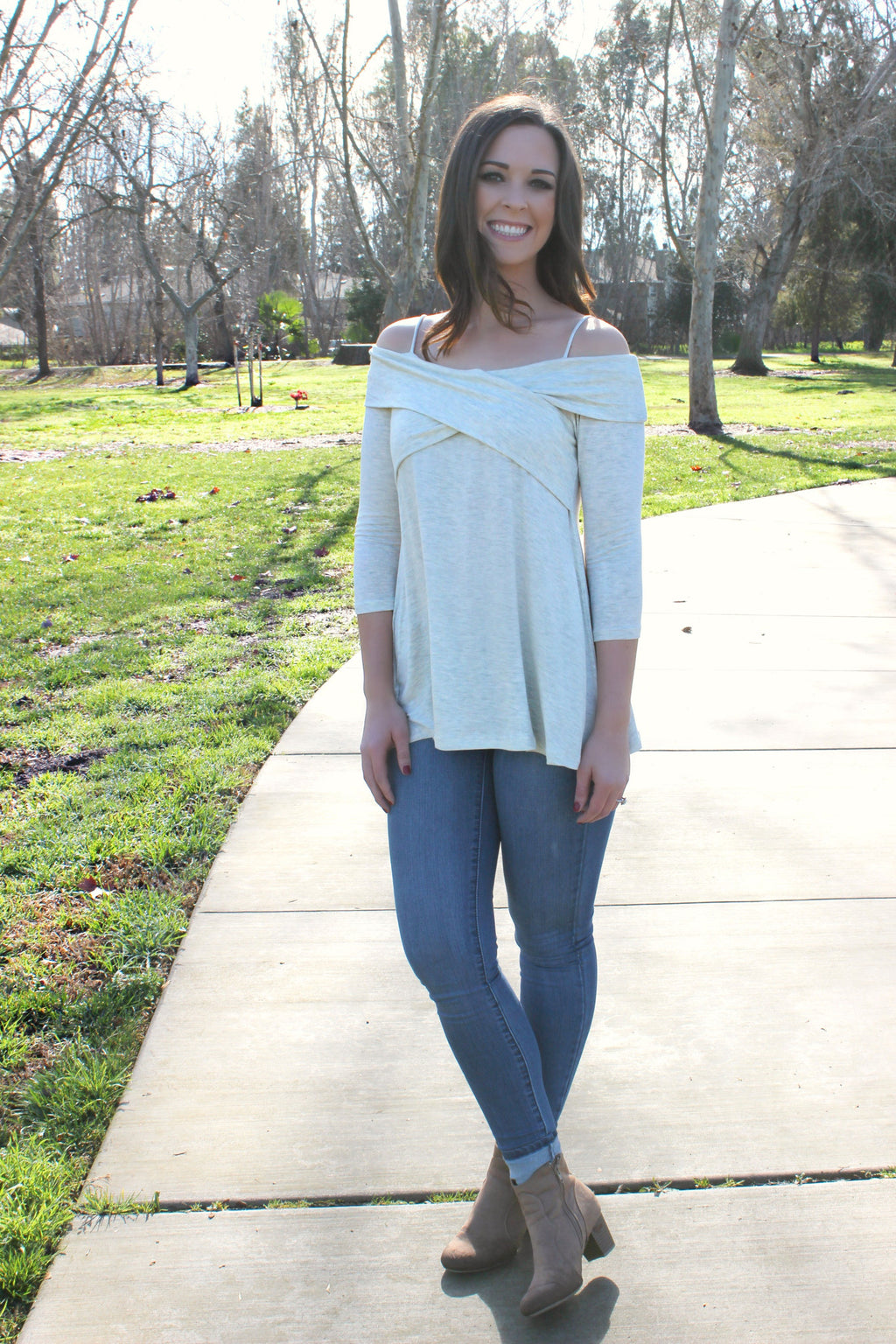 Sweet Cheeks Blouse - Leah B. Boutique