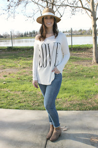 One Love Tee - Leah B. Boutique
