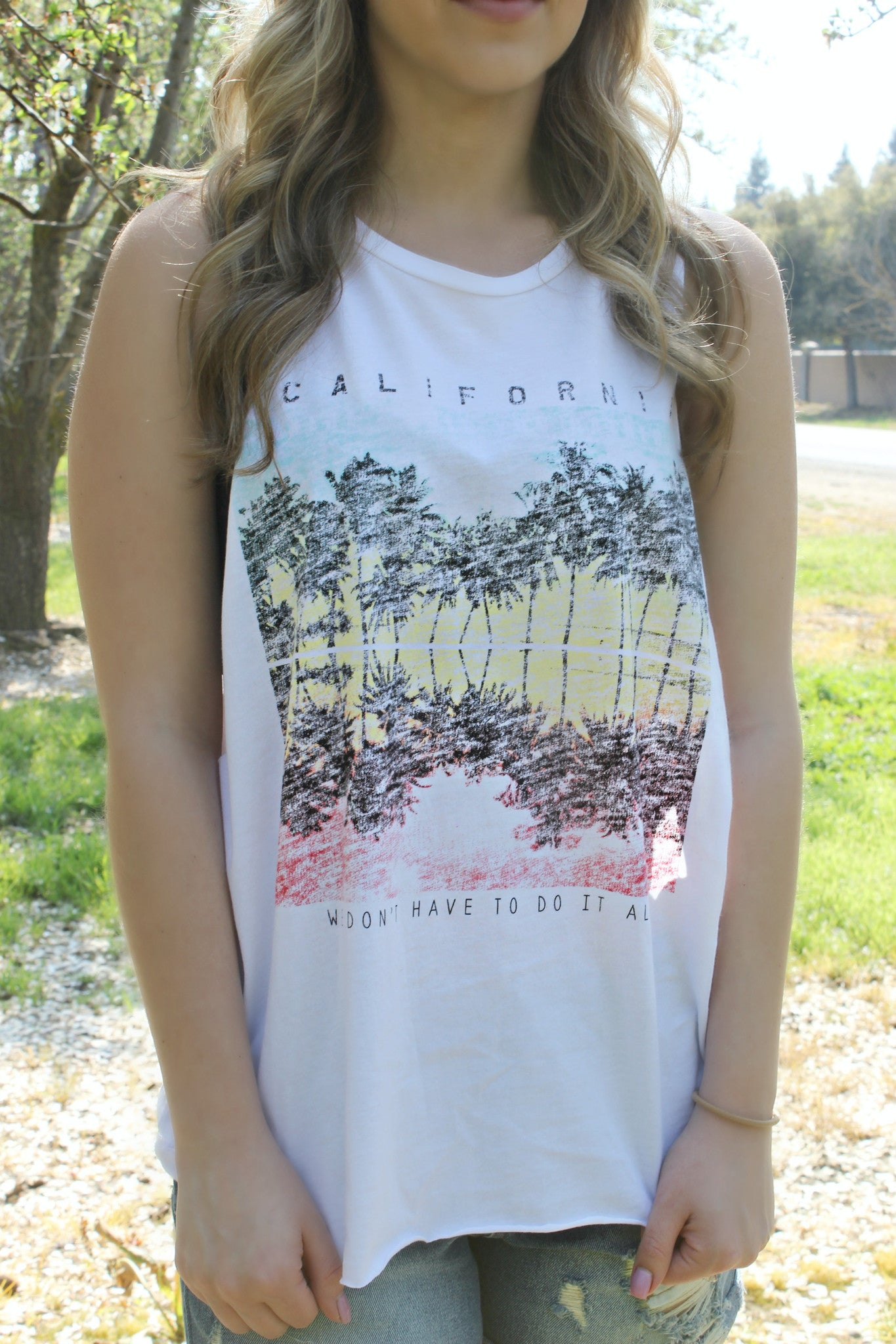 Bounce in California Tee - Leah B. Boutique