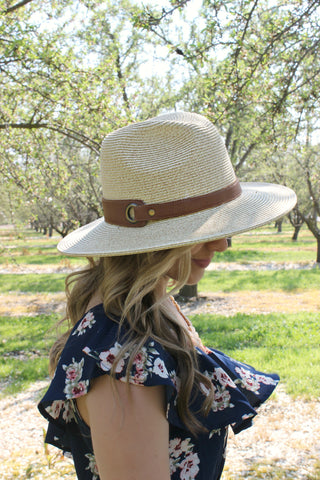 Cancun Skies Hat in Straw