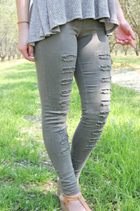 Cut to the Chase Jegging - Leah B. Boutique
