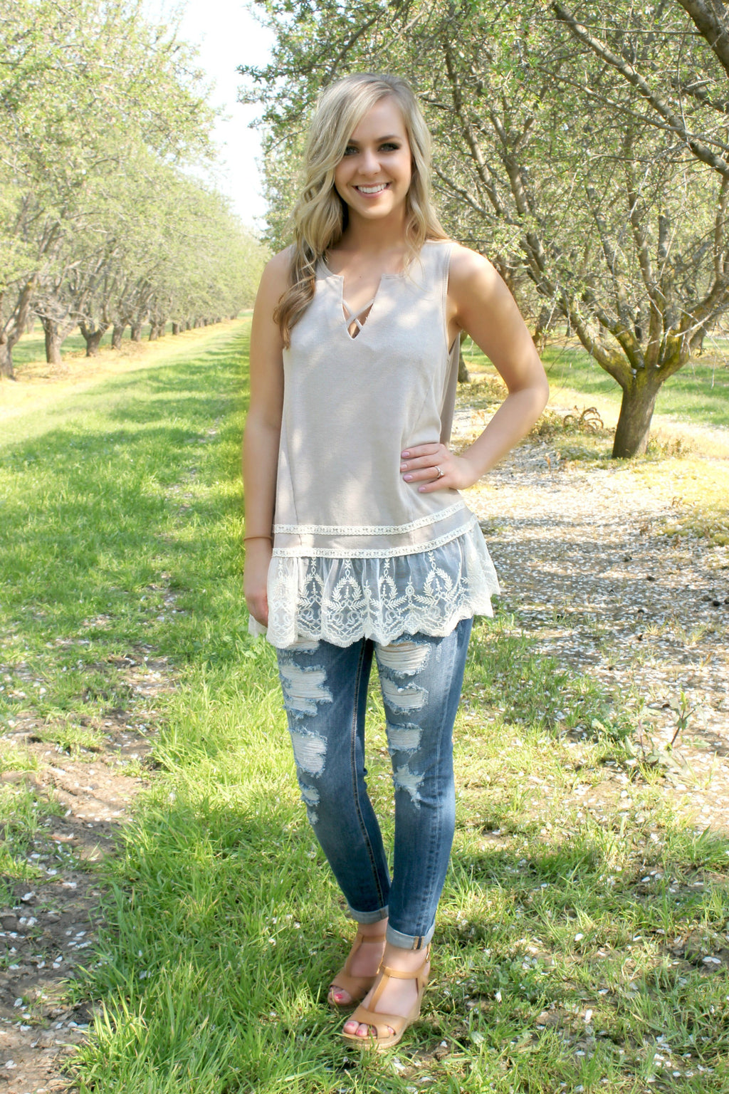 Love Me Tender Blouse - Leah B. Boutique