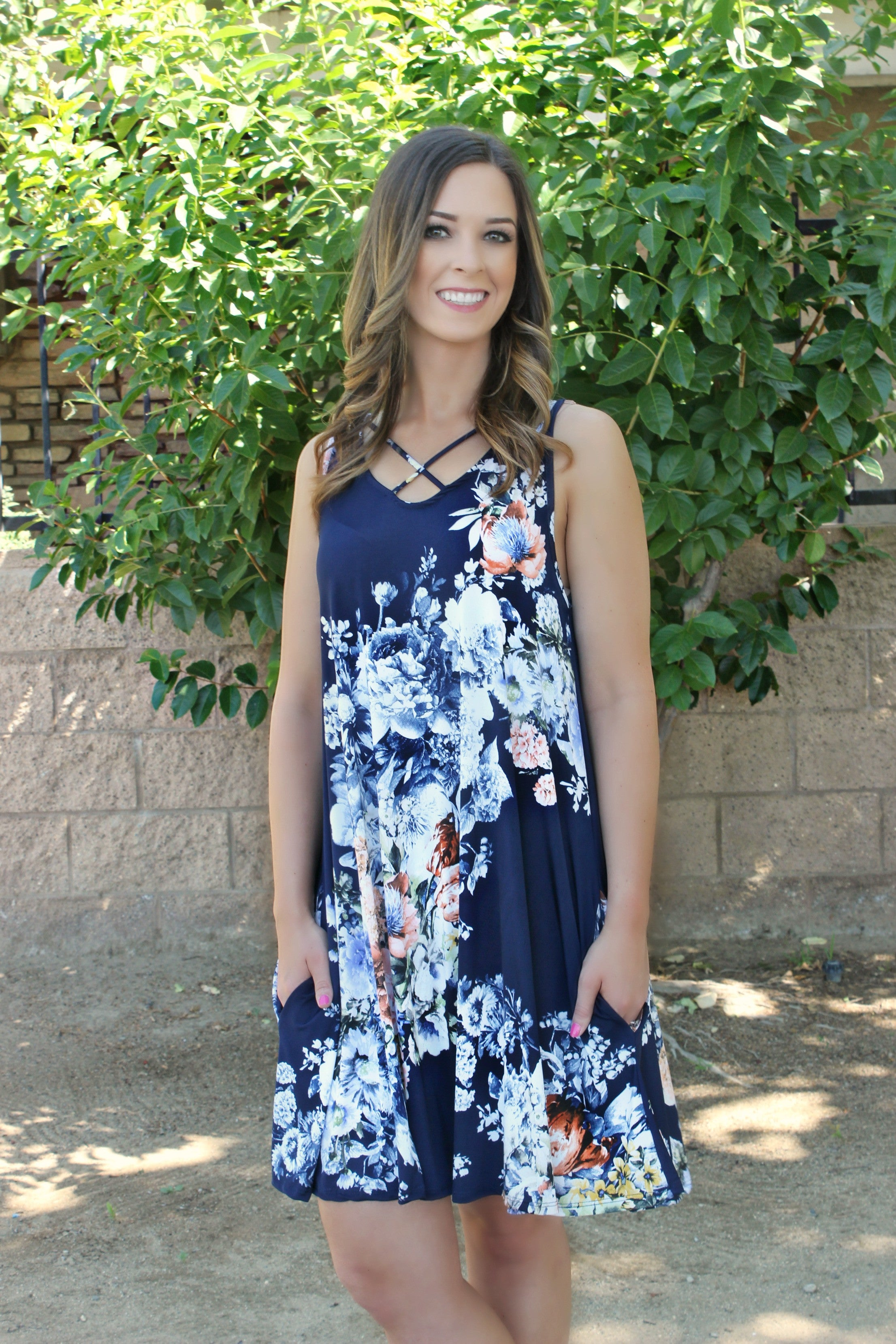 On To Better Things Dress - Leah B. Boutique
