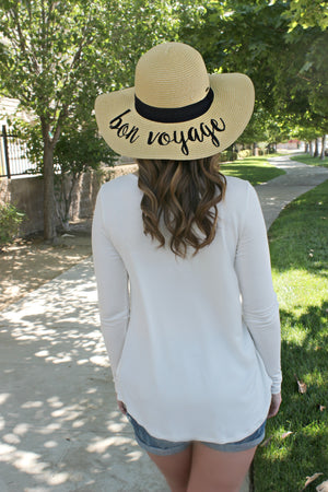 Simply the Best Blouse in Ivory - Leah B. Boutique