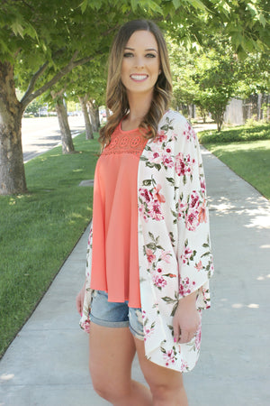 Garden of Eden Cardigan - Leah B. Boutique