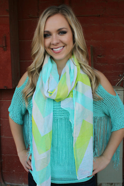 Watercolor Scarves
