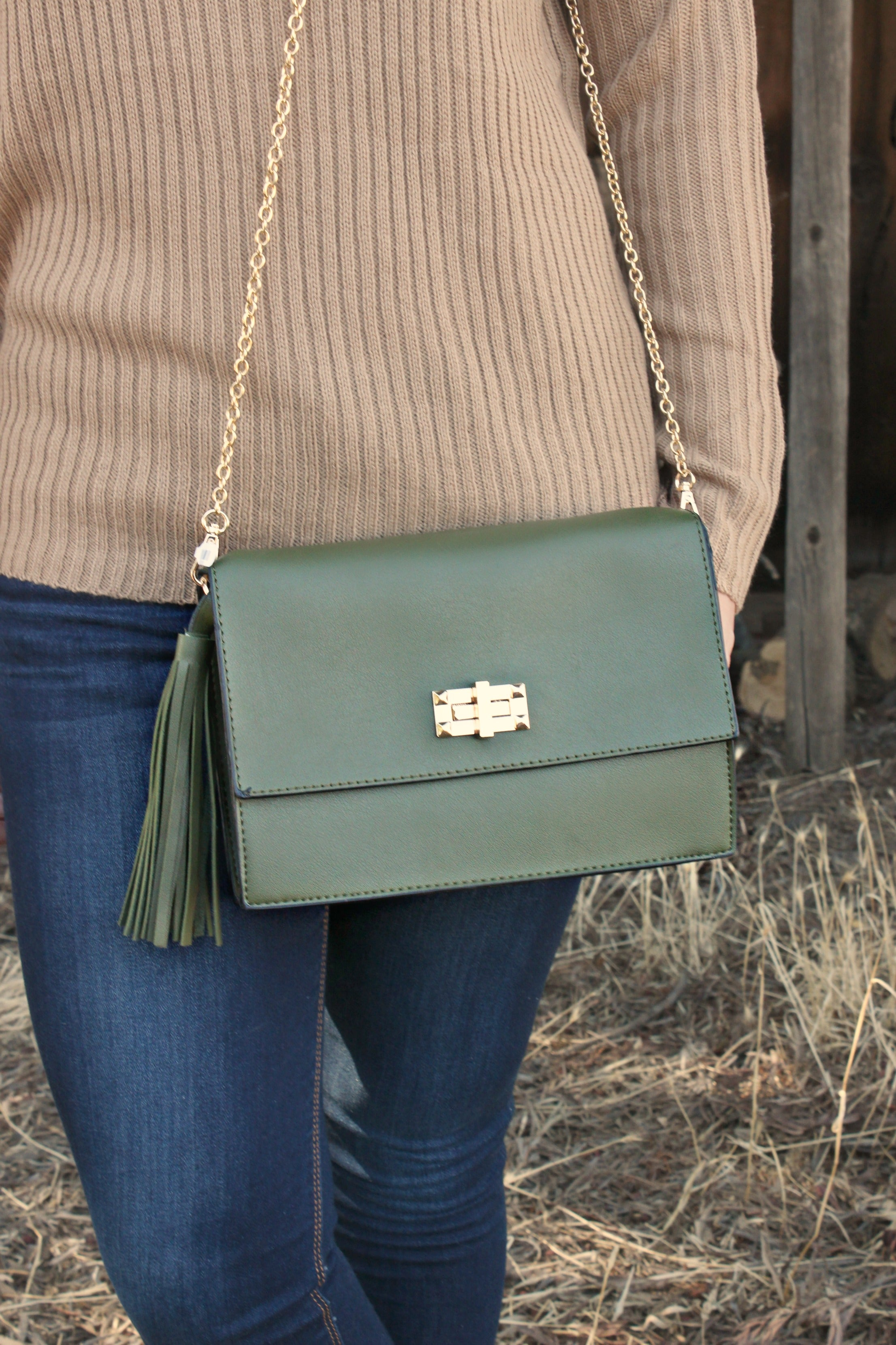 The Vineyards Clutch - Leah B. Boutique