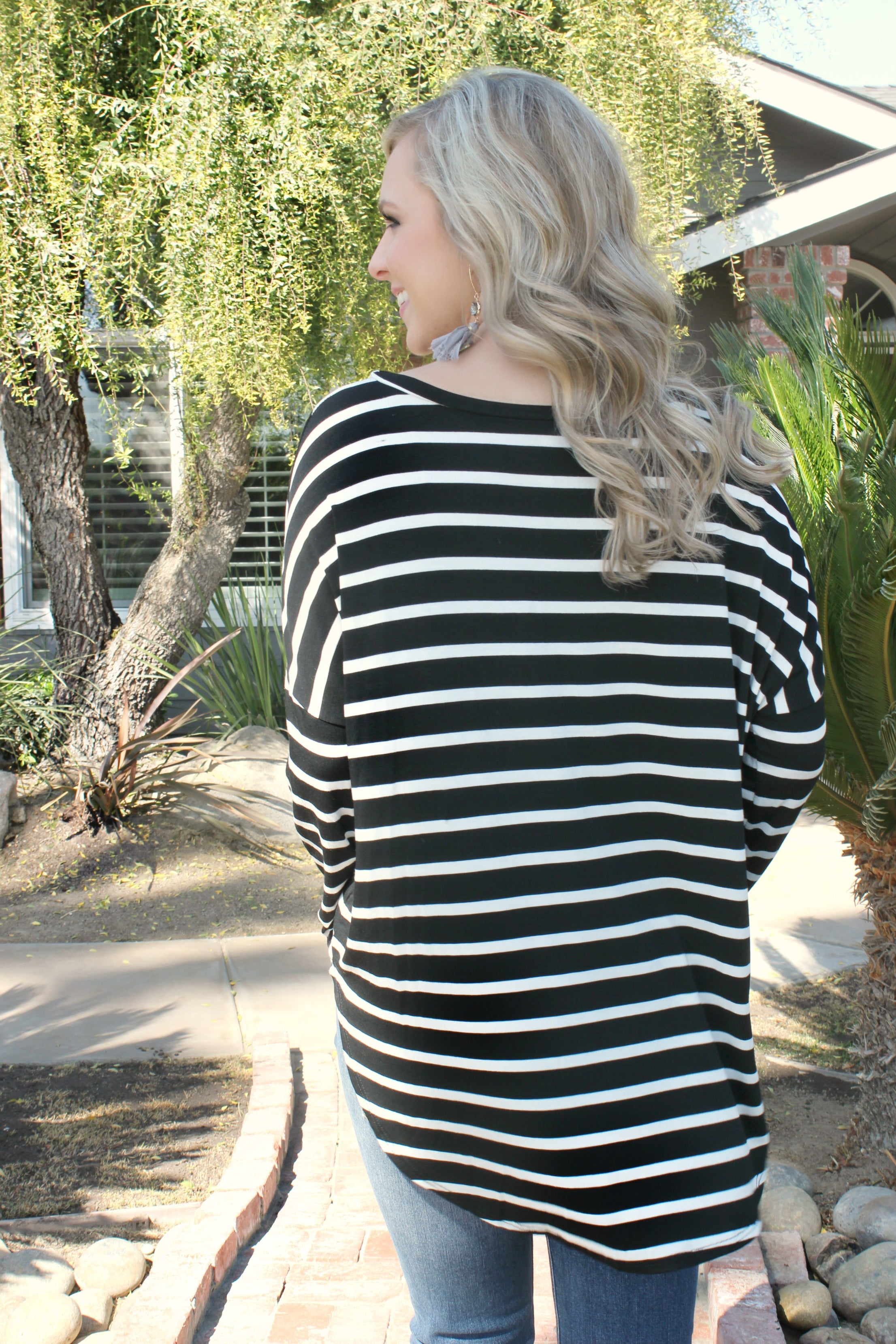 Middle of the Night Blouse - Leah B. Boutique