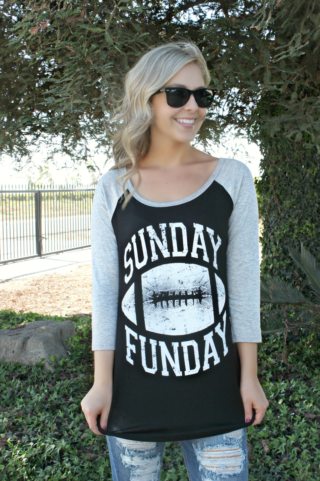 Sunday Funday Tee - Leah B. Boutique
