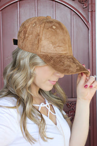 Suburban Chic Hat in Mocha - Leah B. Boutique
