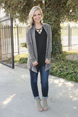 Around the Bend Cardigan - Leah B. Boutique