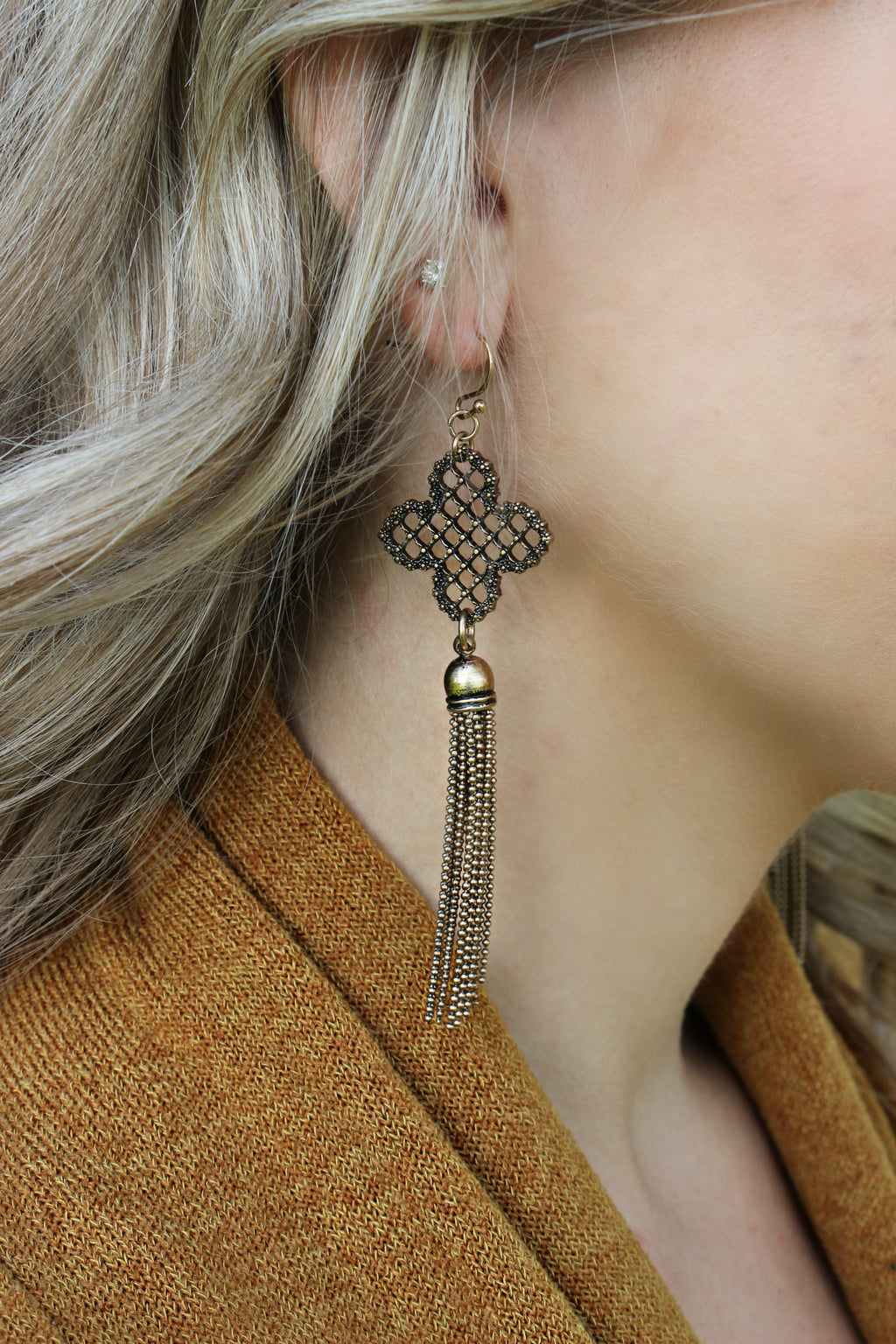 Rightfully So Earrings - Leah B. Boutique