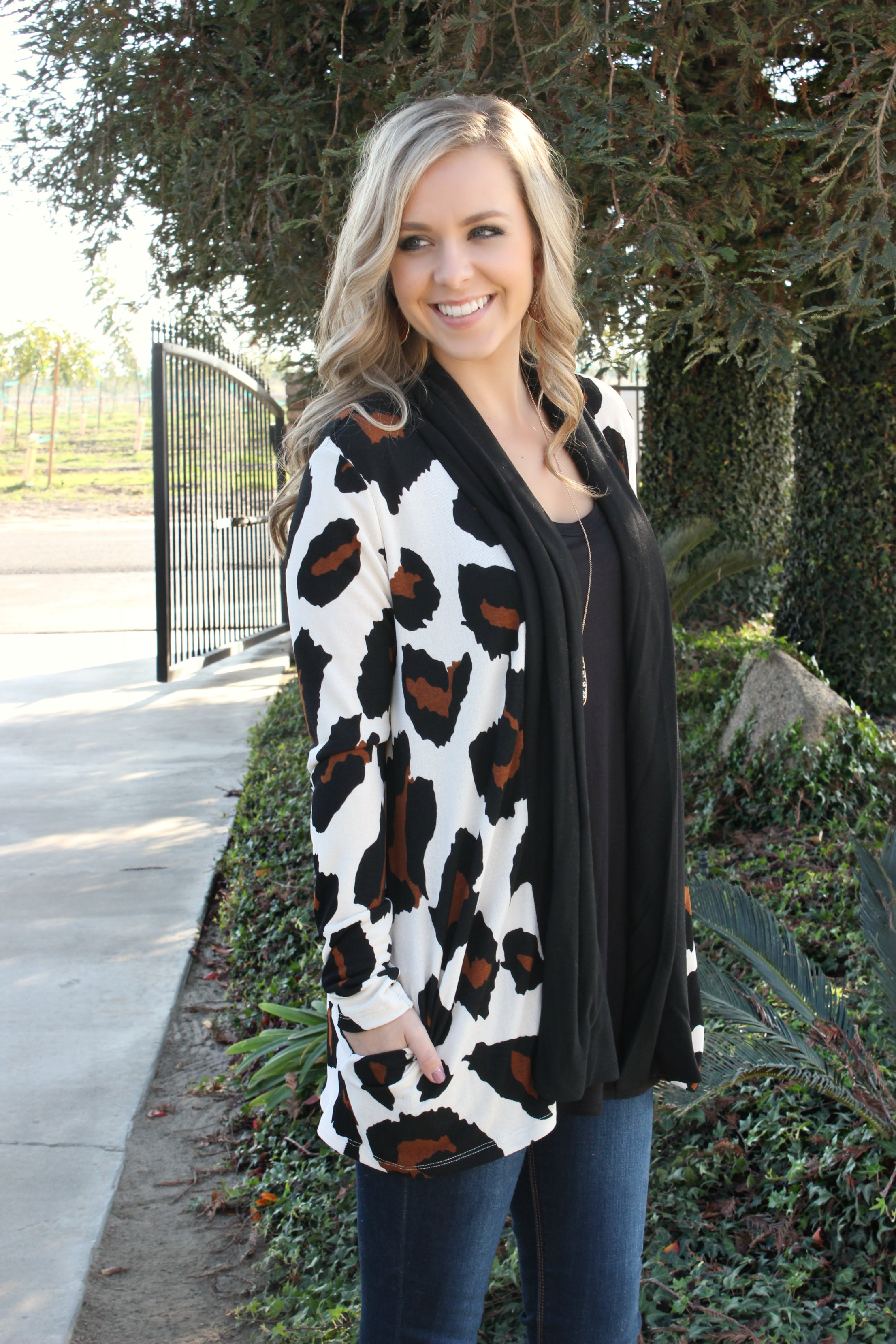 Hear Me Roar Cardigan - Leah B. Boutique