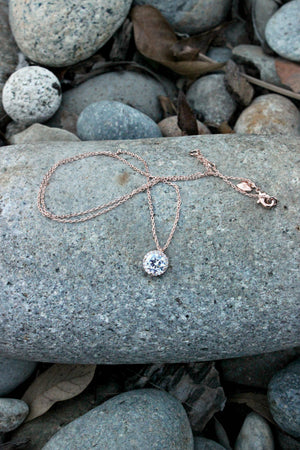 Dew Drop Pendant Necklace - Leah B. Boutique