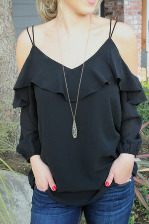 Not Your Baby Blouse - Leah B. Boutique