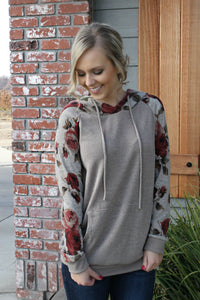 Stay Beautiful Hoodie - Leah B. Boutique