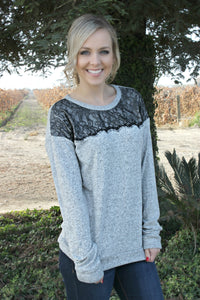Keep It Real Sweater - Leah B. Boutique