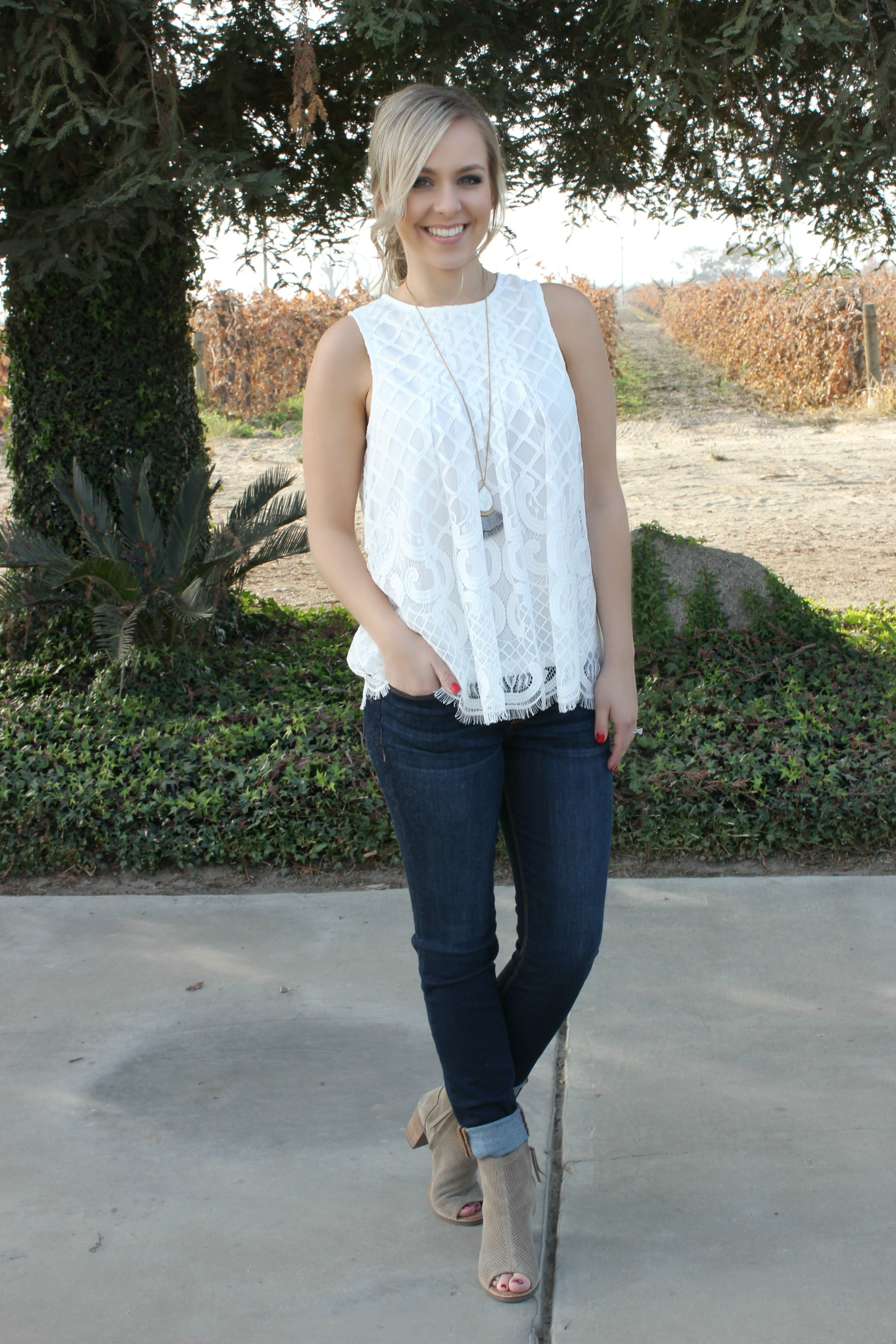 Spoonful of Sugar Blouse - Leah B. Boutique