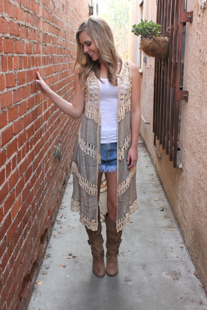 Whispering Wind Cardigan - Leah B. Boutique