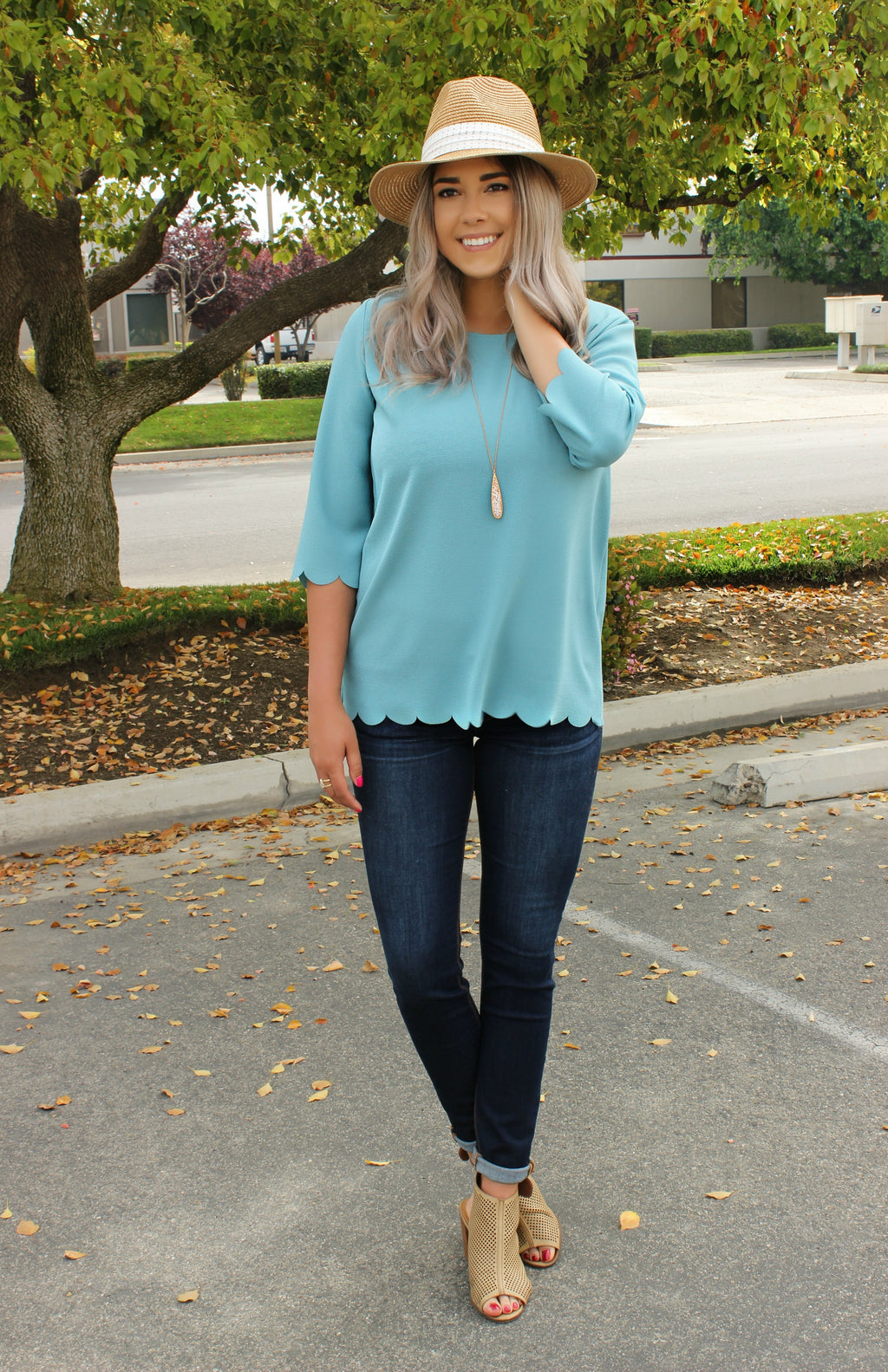 All Starts Here Blouse - Leah B. Boutique