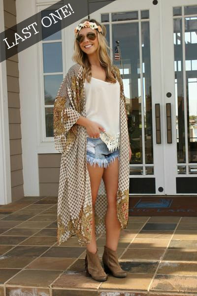 Picking Wildflowers Cardigan - Leah B. Boutique