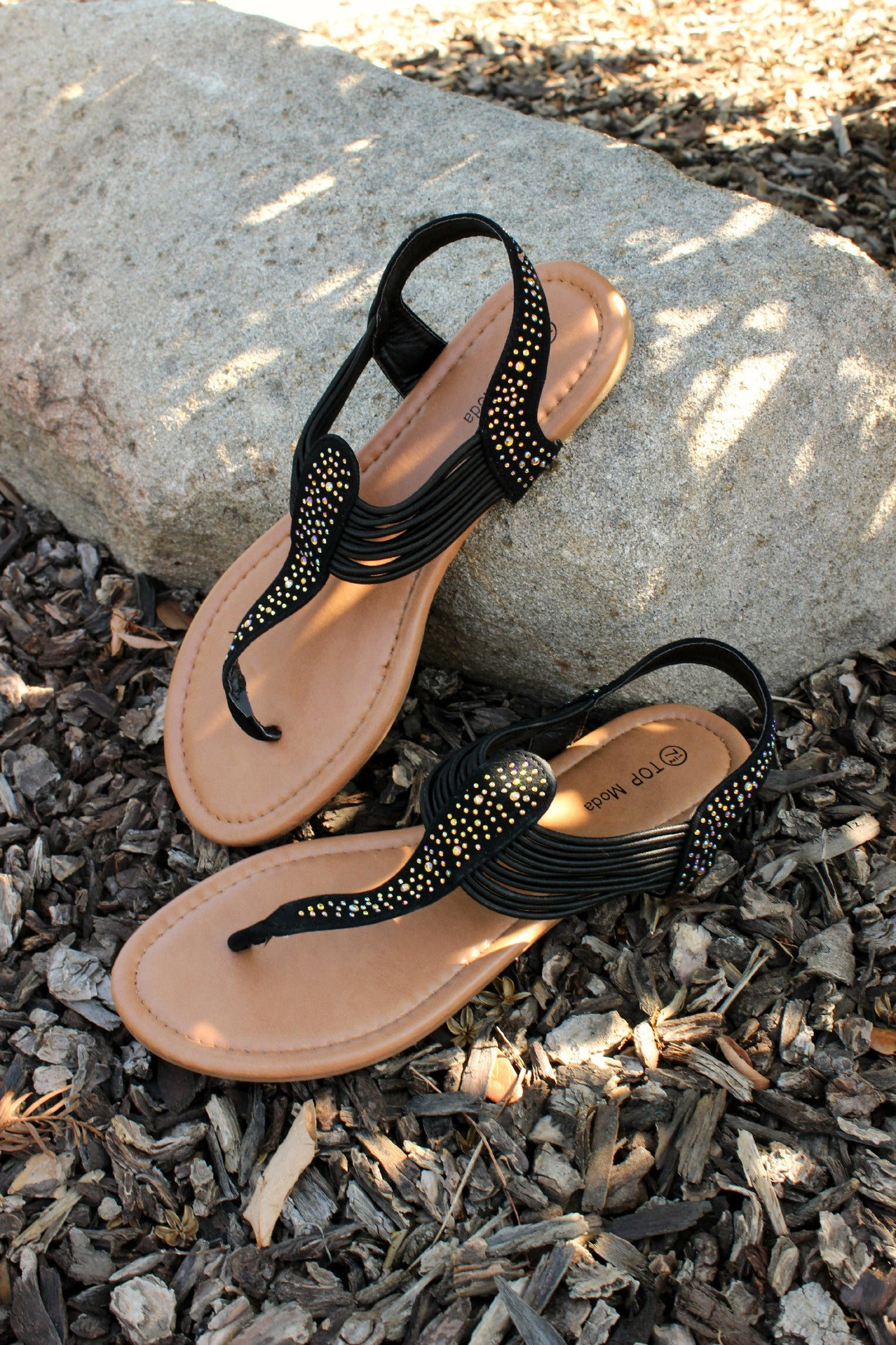 Call Me Later Sandals - Leah B. Boutique
