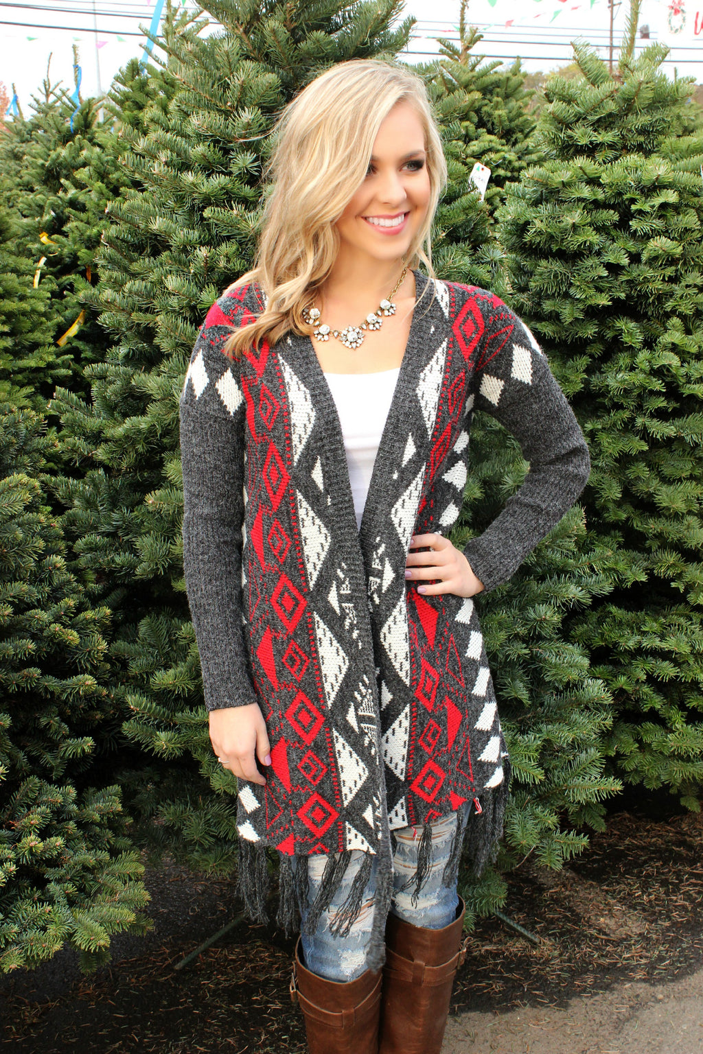 Right By Your Side Cardigan - Leah B. Boutique