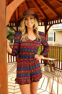 The Tides Have Changed Romper - Leah B. Boutique