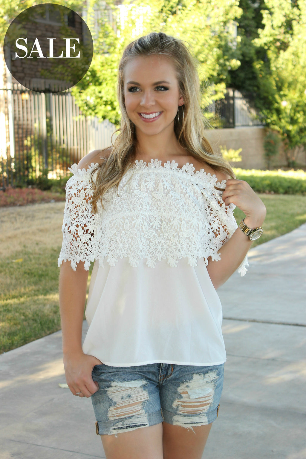 Magnolia Blossoms Blouse - Leah B. Boutique