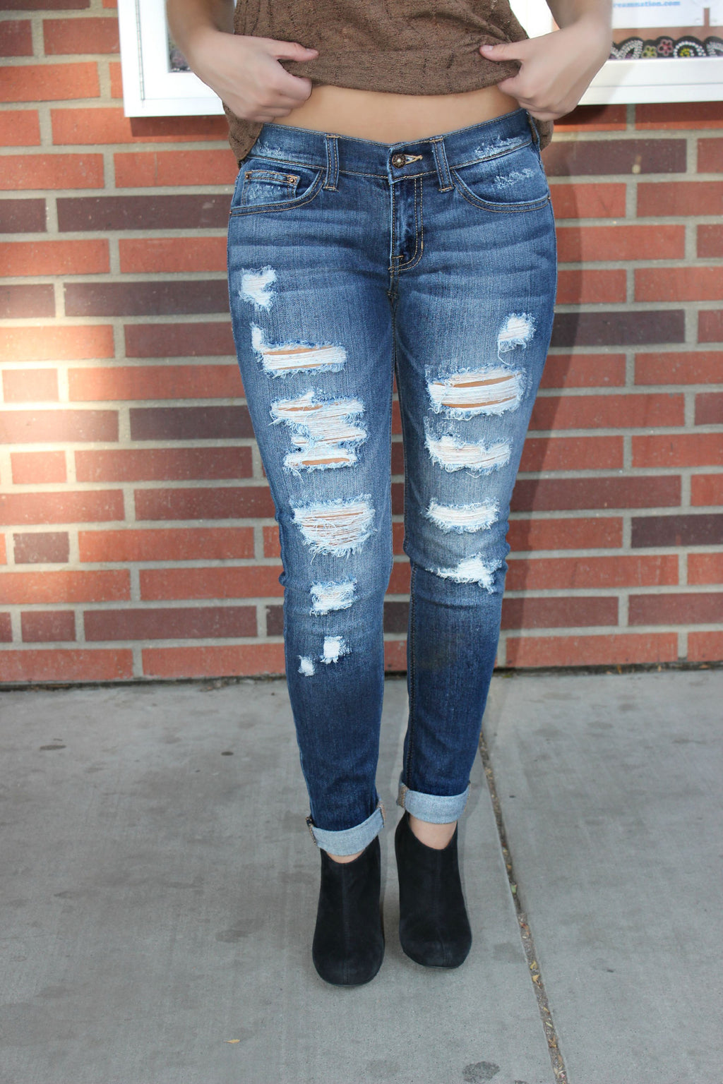 Make Them Talk Denim - Leah B. Boutique