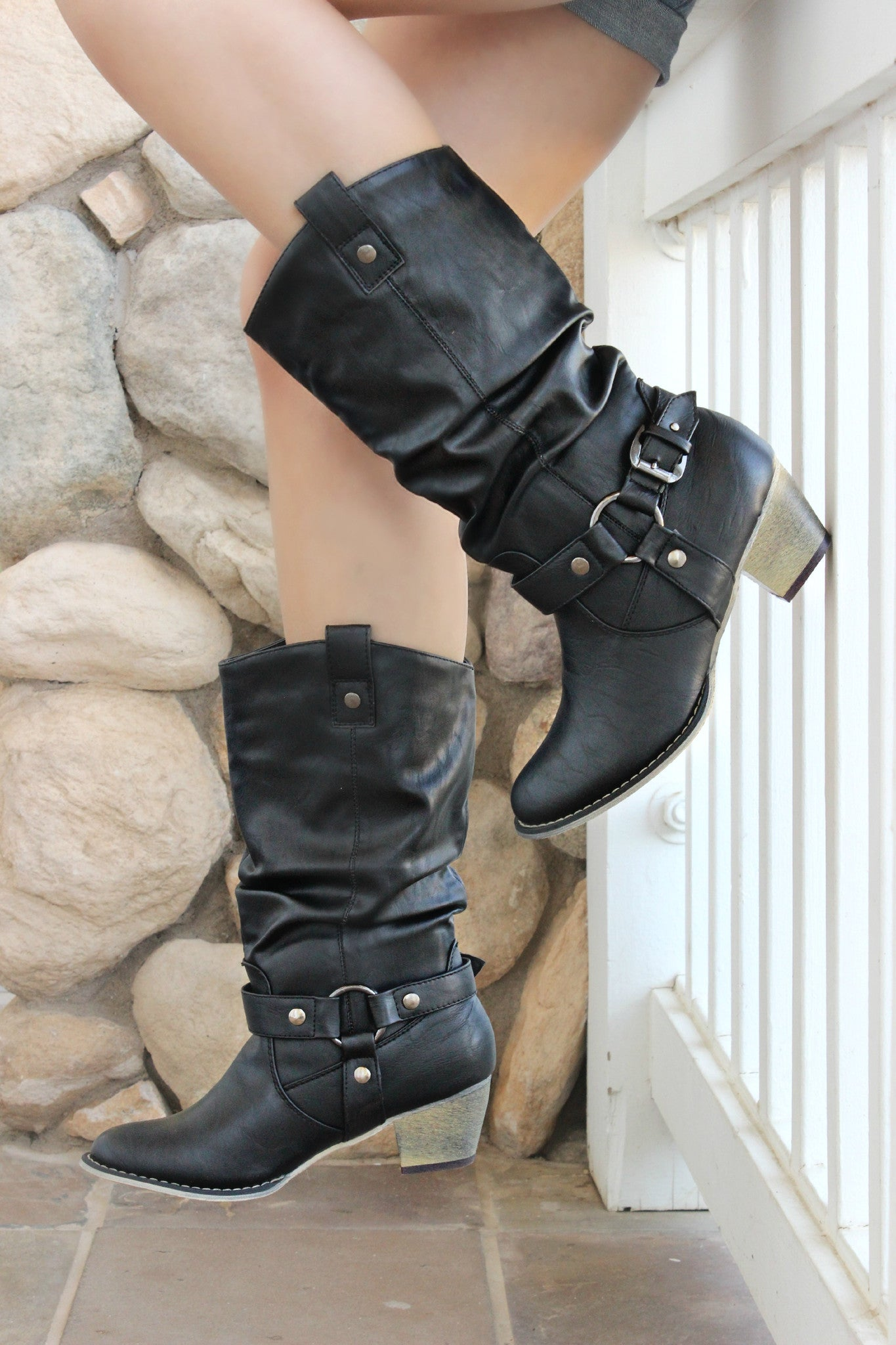 Love and War Boots - Leah B. Boutique