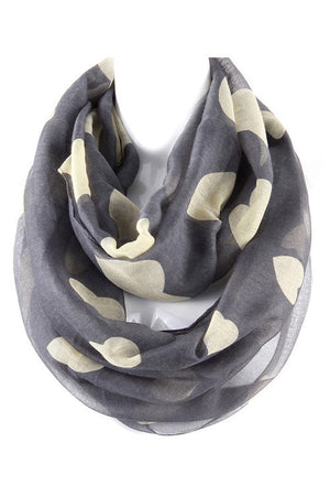 Heart's Delight Infinity Scarf - Leah B. Boutique
