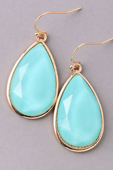Crystal Waters Earrings - Leah B. Boutique