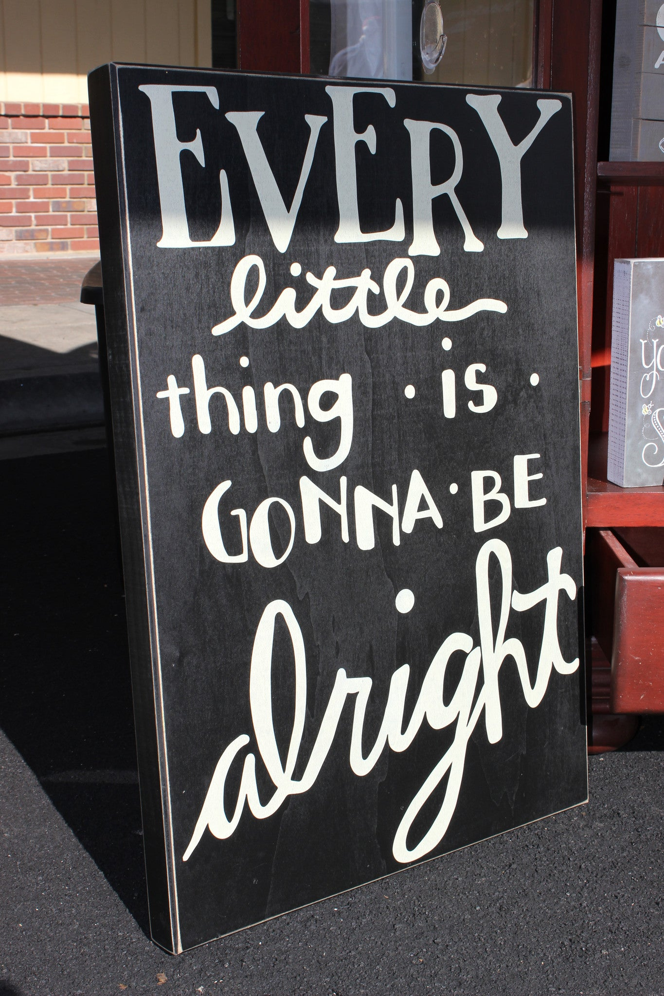 Gonna Be Alright Sign - Leah B. Boutique