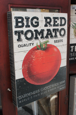 Big Red Tomato Sign