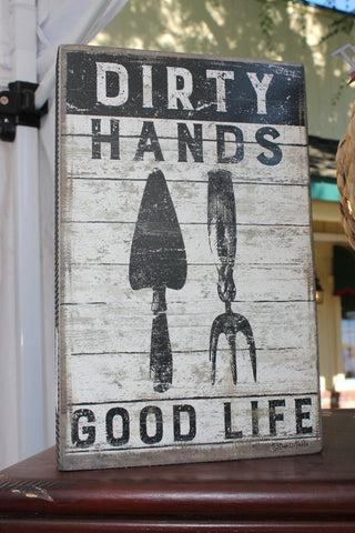 Dirty Hands Sign