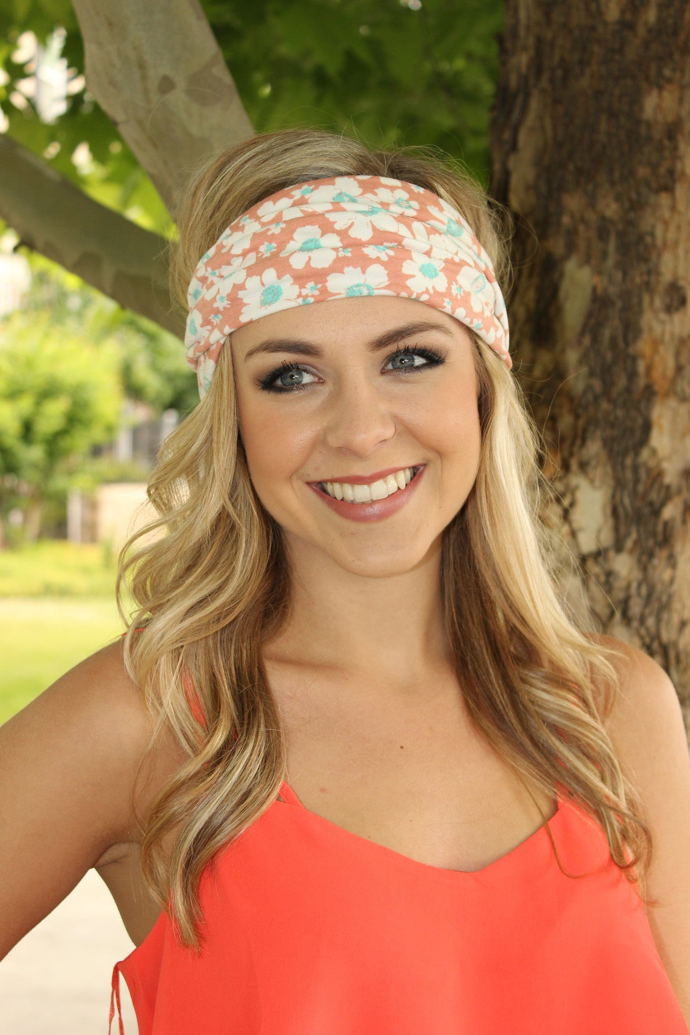Apricots and Sunshine Headband - Leah B. Boutique
