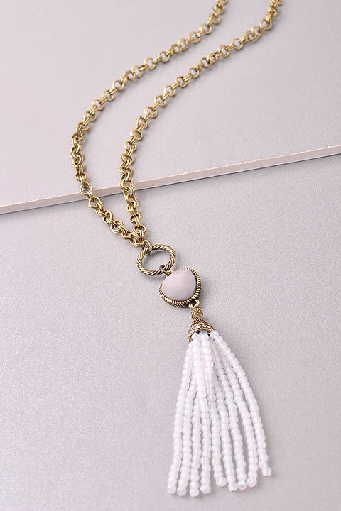 Misty Morning Necklace - Leah B. Boutique