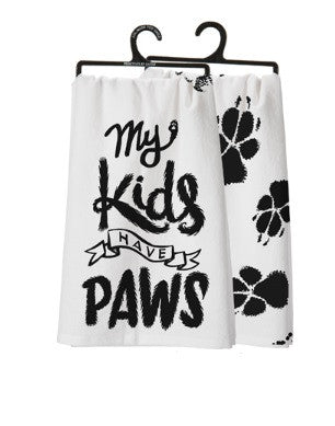Kids Have Paws Towel