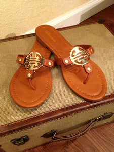 Sunkissed Toes Sandal - Leah B. Boutique