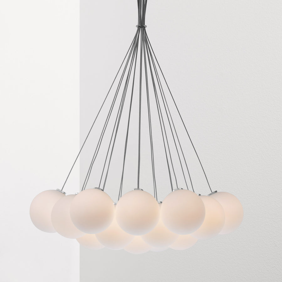 Glass 120. 19R Chandelier