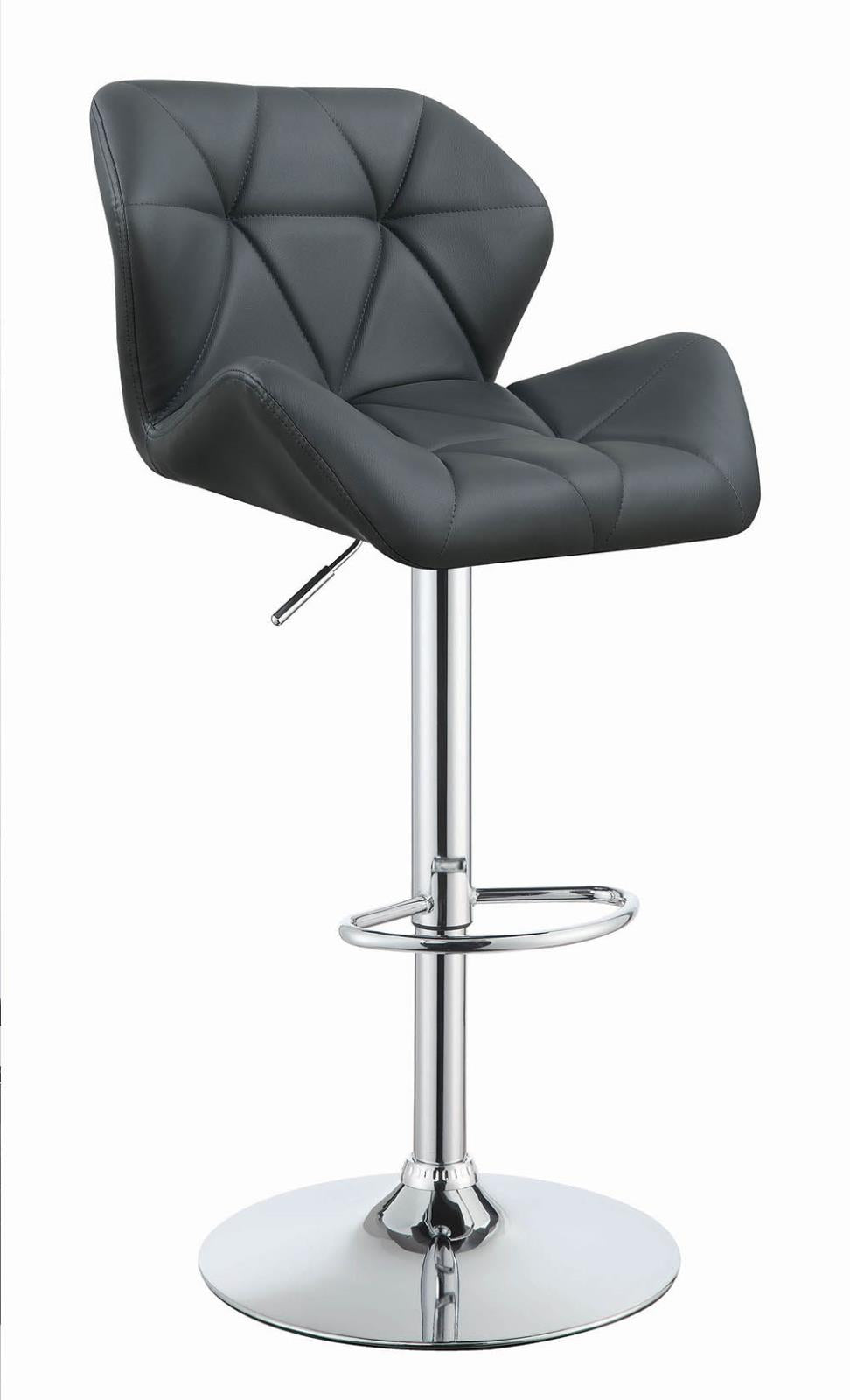 G100426 Contemporary Grey Adjustable Bar Stool image
