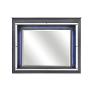 Homelegance Allura Mirror in Gray 1916GY-6 image
