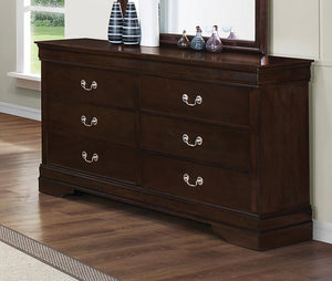 Louis Philippe Six-Drawer Dresser image