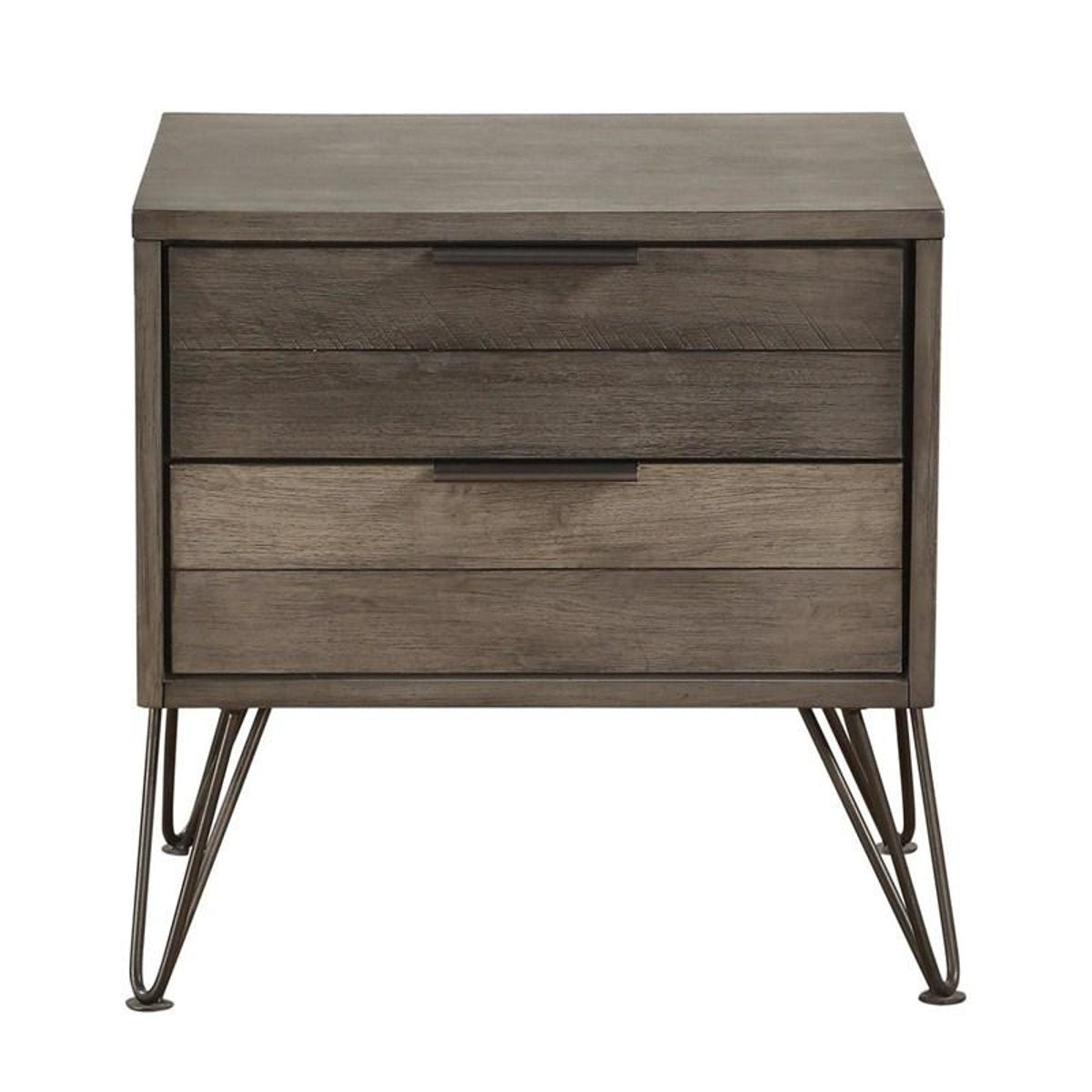 Homelegance Urbanite Nightstand in Tri-tone Gray 1604-4 image