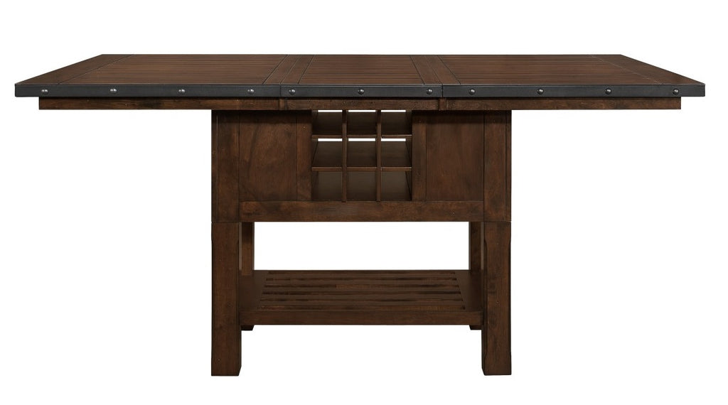 Homelegance Schleiger Counter Height Dining Table in Dark Brown 5400-36XL* image