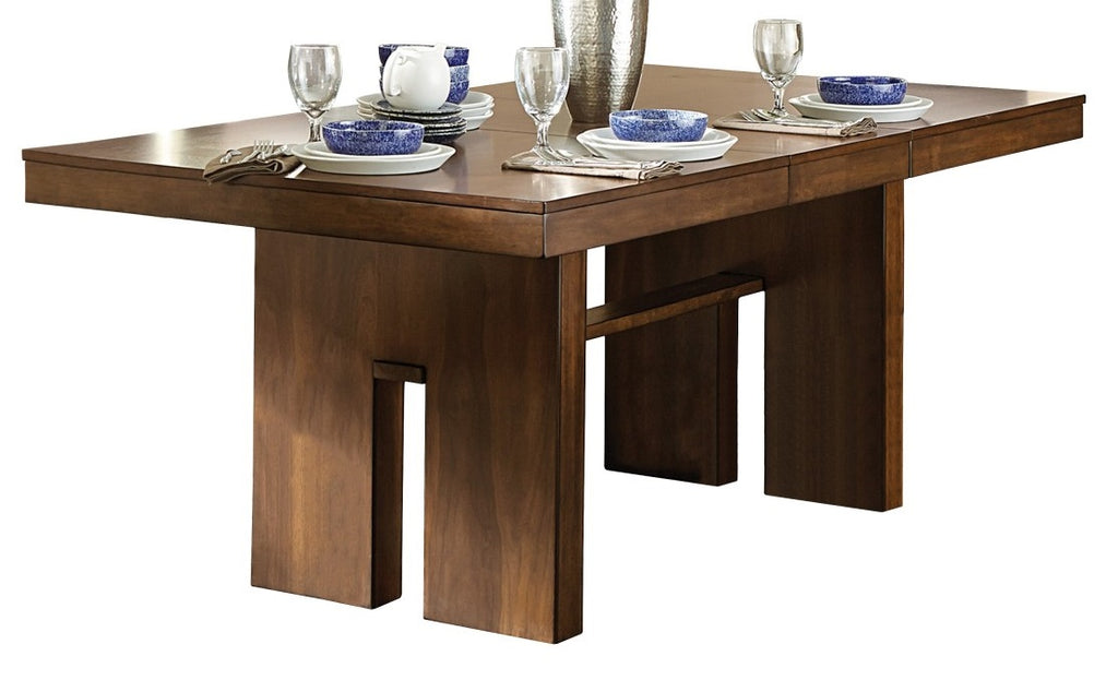 Homelegance Sedley Dining Table in Walnut 5415RF-78* image