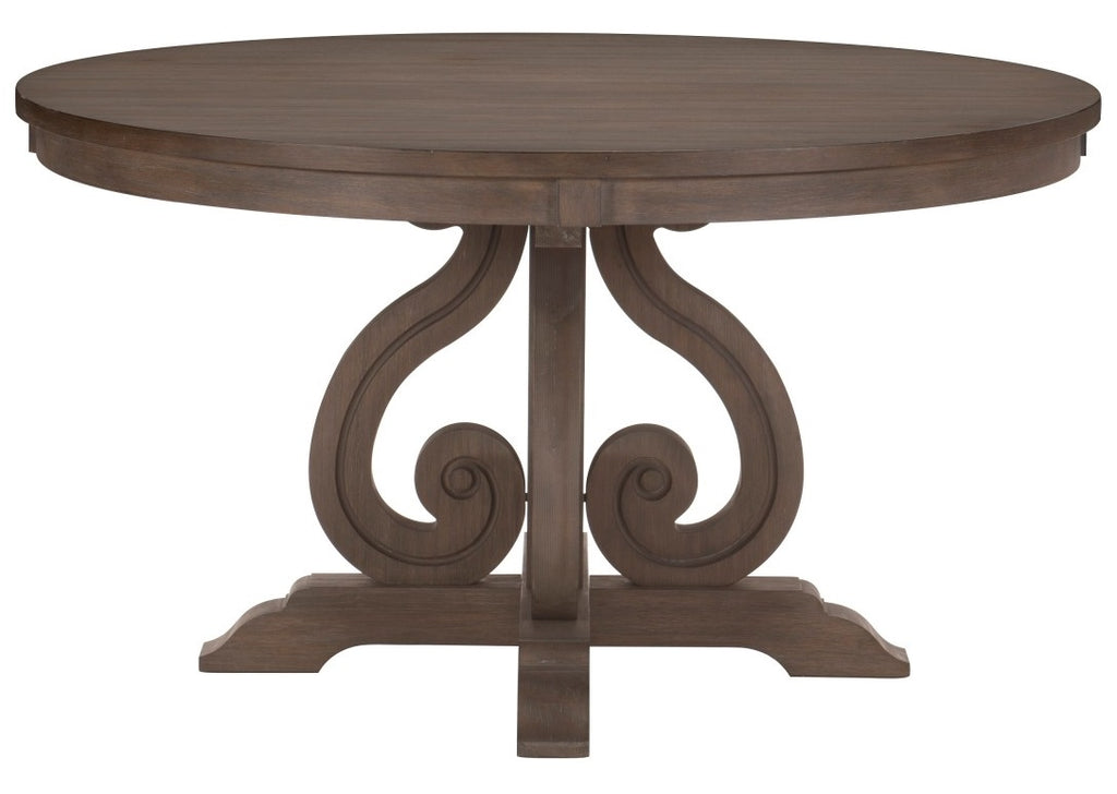 Homelegance Toulon  Round Dining Table in Dark Pewter 5438-54* image